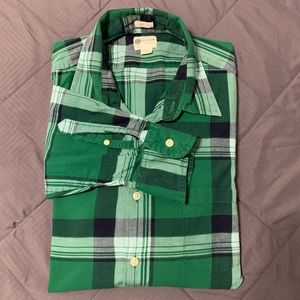 Men's J Crew Factory Plaid Button Down